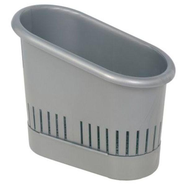 odkapávač příb. 9,5x18x14,5-stříbrný, plast
