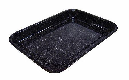 plech 36,5x29,5x5cm smalt na pečení