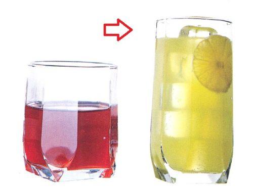 sklen. 330ml, 6ks, TUANA v.14cm - long drink