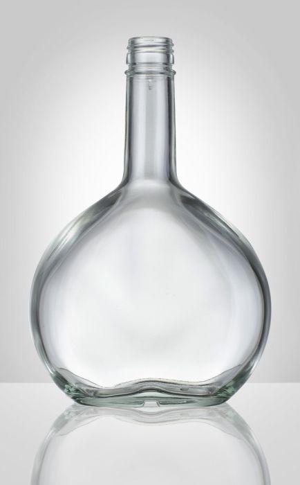 láhev 0,5 l SAMTREST-PLACATKA, šroub.,  sklo