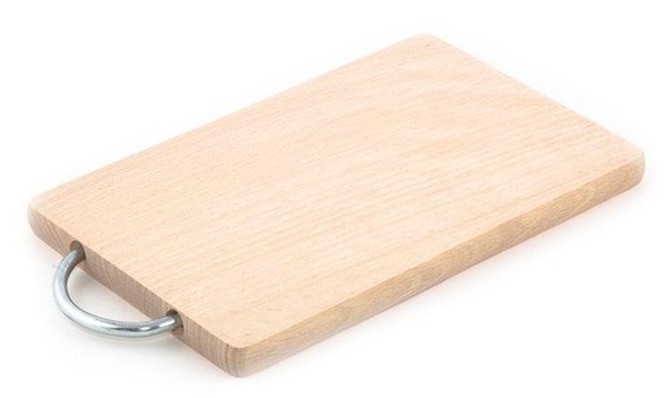 prkénko 34x19x1,6cm, kov.úchyt, dřevo