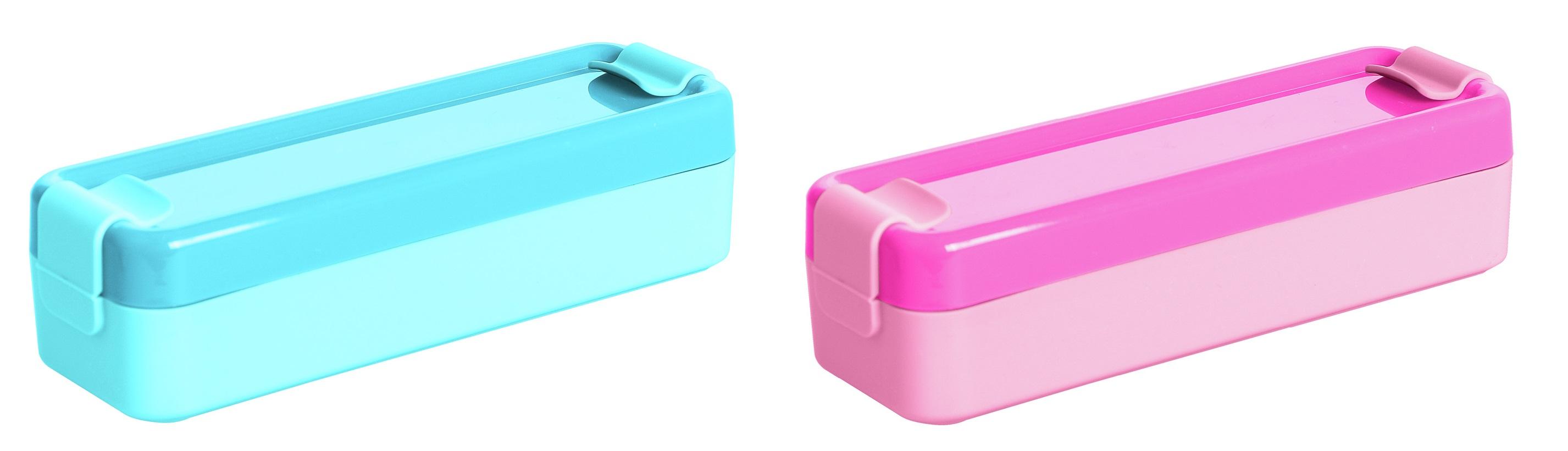 box  0,60l svačina 19,3x6.3x5cm,klick,plast