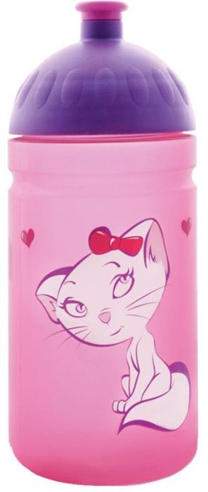 FreeWater lahev 0,5l KOČKA růžová