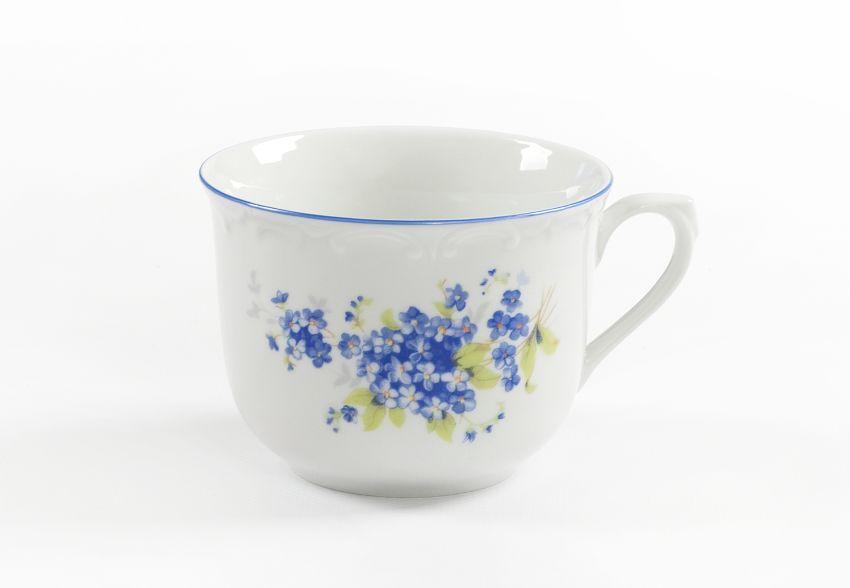 hrnek 270ml R -POMNĚNKY modré, čes.porcelán