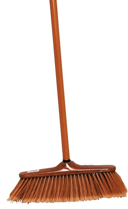 smeták 35cm im.dřeva hr,z.25x5cm +130cm hůl