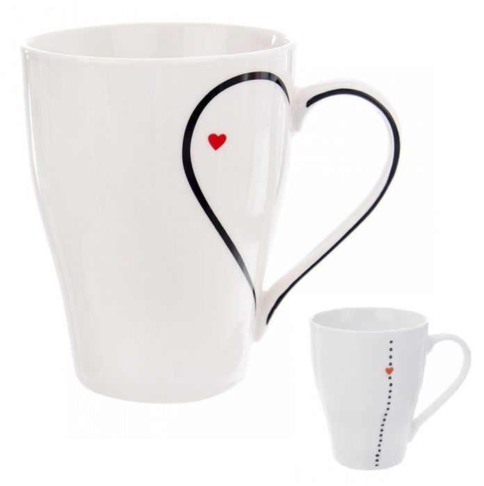 hrnek 380ml DUO LOVE, porcelán