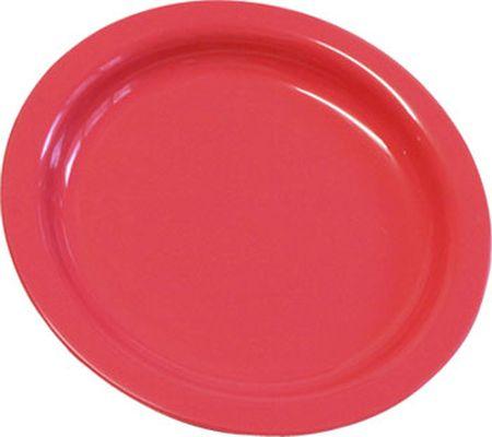 talíř d22cm mělký, MIX barev, PP plast