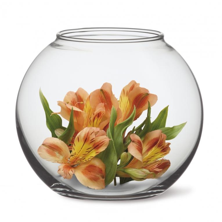 váza GLOBE 14cm, d16,4cm (koule) VB SIMAX