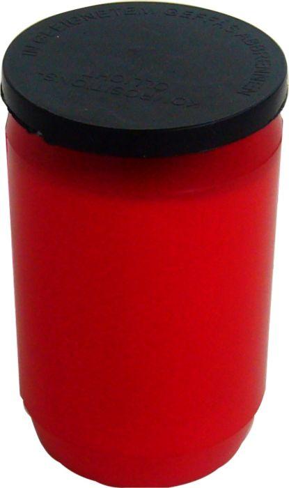 svíčka  1ks OL1, olej.malá,červená, hřbitovní