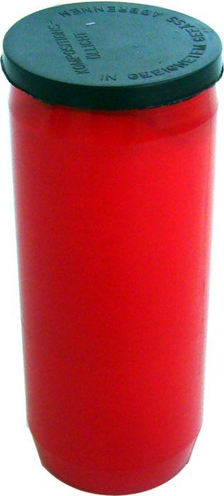 svíčka  1ks OL4 220g, olej.velká,červená, hřbitovn