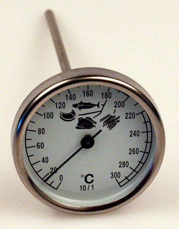 teploměr vpich., 0°C+300°C, bimetal