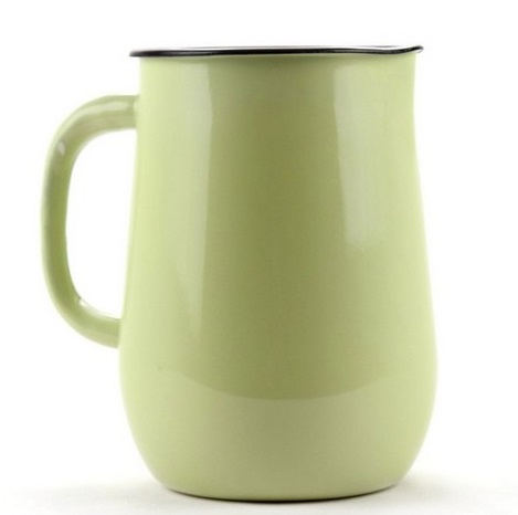 džbán 2,5l - sv.zelený, d11,5x20cm, smalt