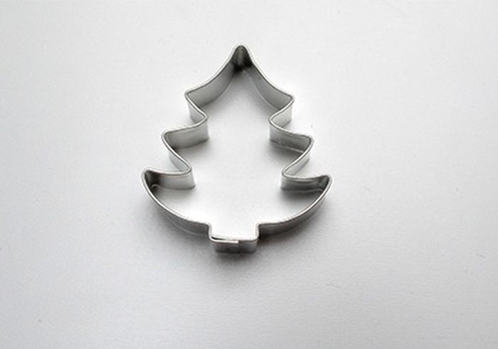 vykr. 349-Stromeček m.II.-jedle, 4x4,5cm
