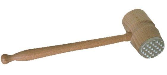 palička na maso EKO-Profi, dřevo/kov