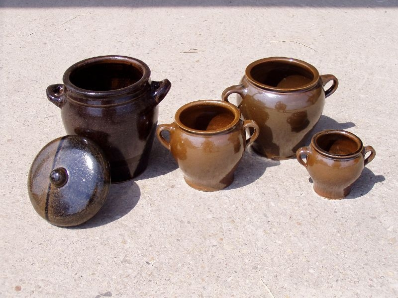 hrnec+PO  0,8l sádlák, keramika