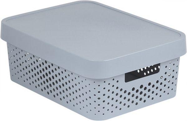 box 11,0l INFINITY díry, šedý, 36,3x27x13,8cm