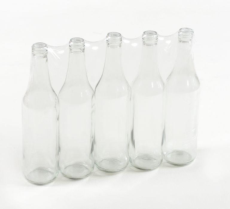 láhev 0,5l LIEH-5ks,(SPIRIT), šroubení, sklo