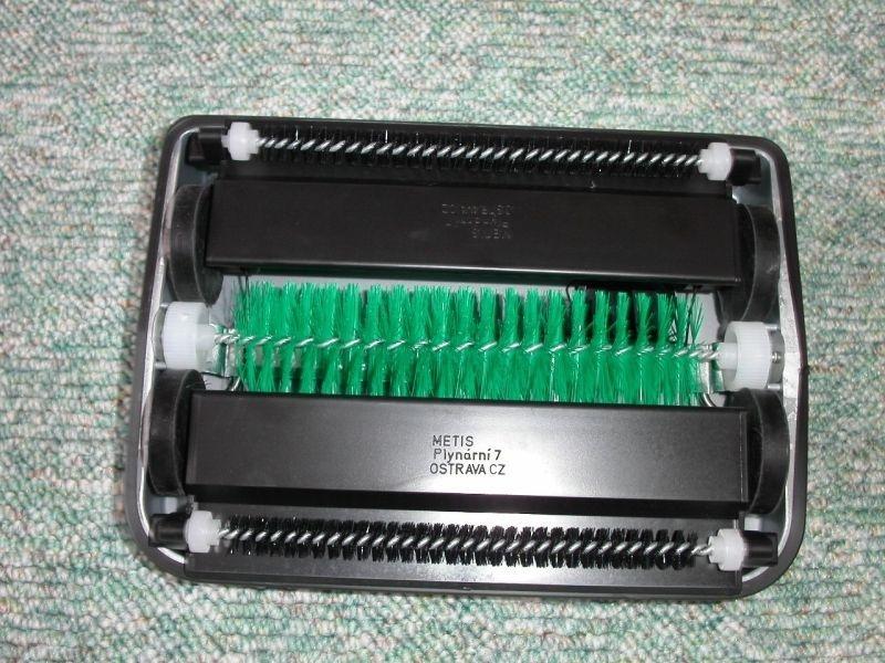 ND-kartáč kulatý k zametači LUX svislý