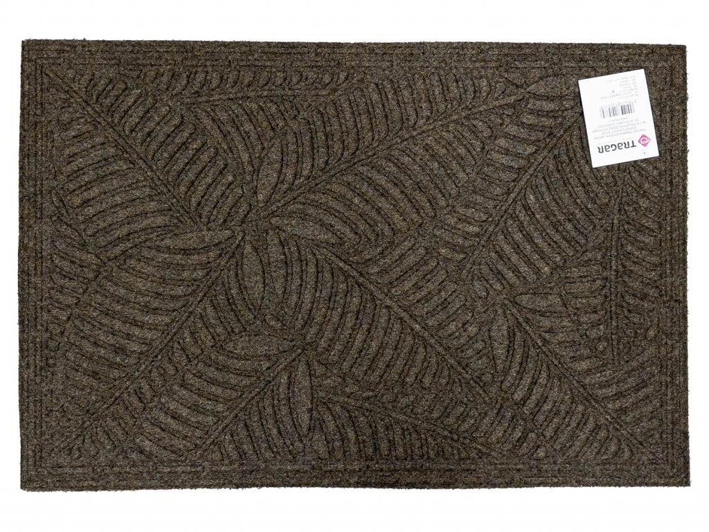 rohož  60x40cm EASY, K-501-2, hnědá, guma+textil