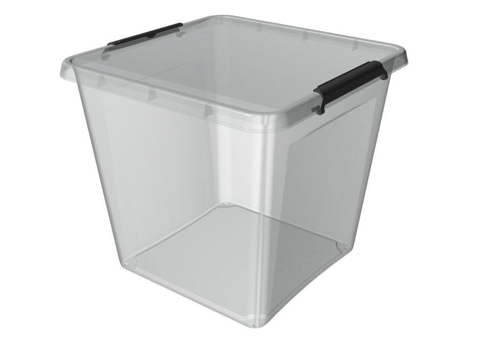 box 36,0l 39x39x35cm,transp.plast