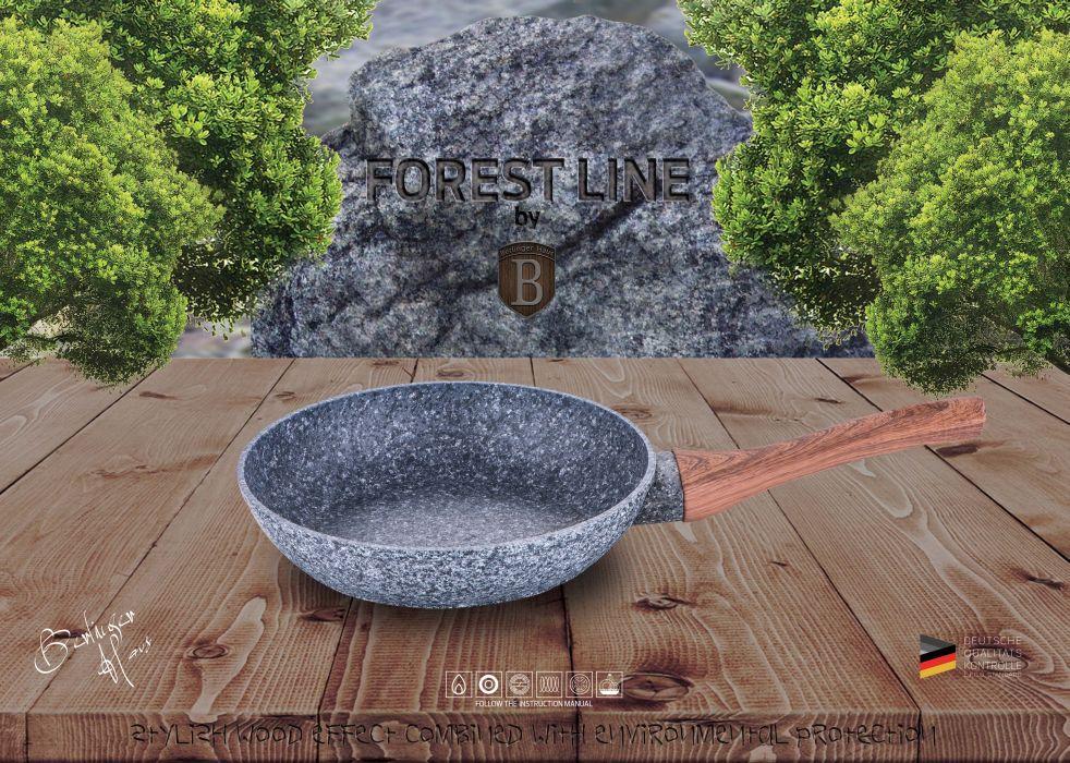 pánev d24x5,0cm FOREST LINE, ind., mr.povrch