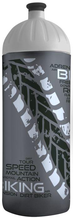 FreeWater lahev 0,7l BIKER antracit-stříbrná