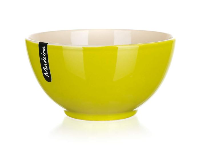 miska d14,5cm MADEIRA zelená/natural, keramika