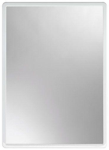 zrcadlo 40,0x30cm MATĚJ, bílé