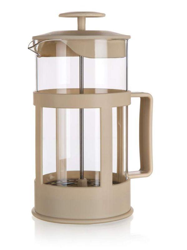 konvice 1,0l ALEGRIA, COFFEE MAKER, sklo+plast