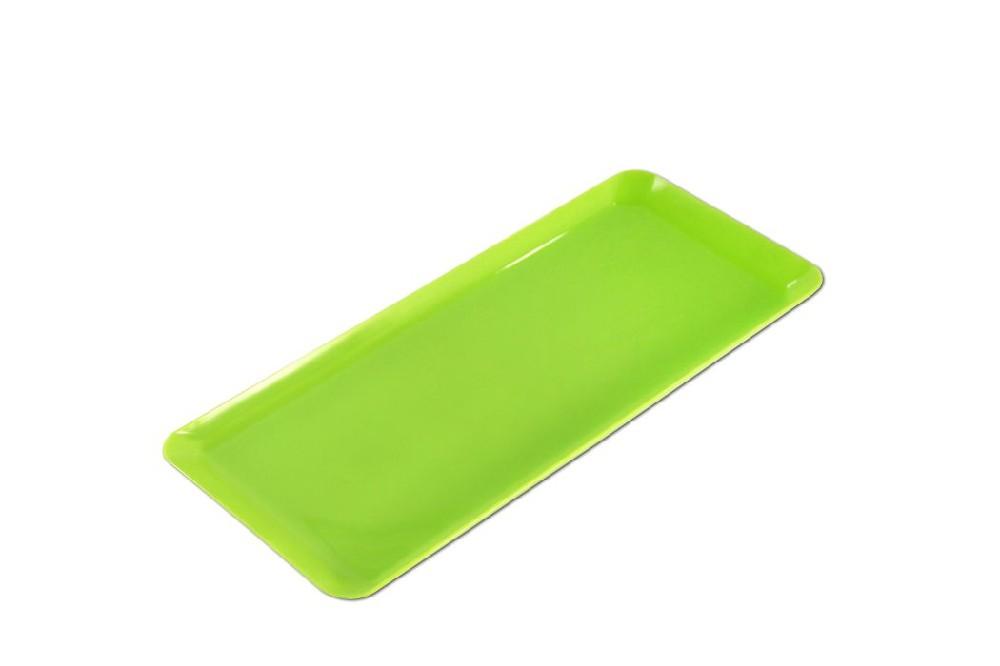 podnos 36x15x1,5cm-124,chlebíčkový,MIX barev,plast