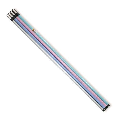hůl 130cm STANDARD MIX barev-hrubý závit