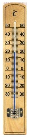 teploměr 20,0x3,5cm univ., -30°C+50°C, MINI II dře