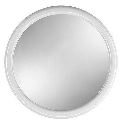 zrcadlo d40cm KUBA, bílé