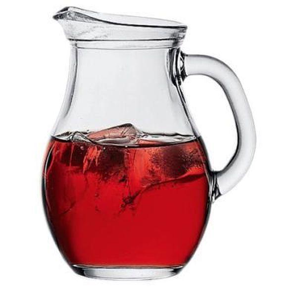 džbán 1,0l BISTRO čirý sklo