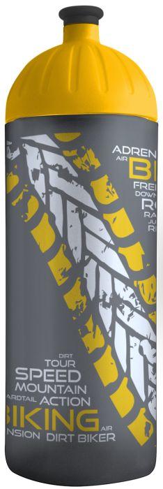 FreeWater lahev 0,7l BIKER antracit-žlutá