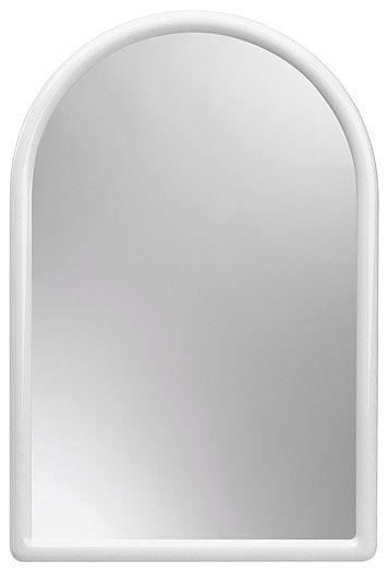 zrcadlo 40x30cm portál, KAČENKA, bílé
