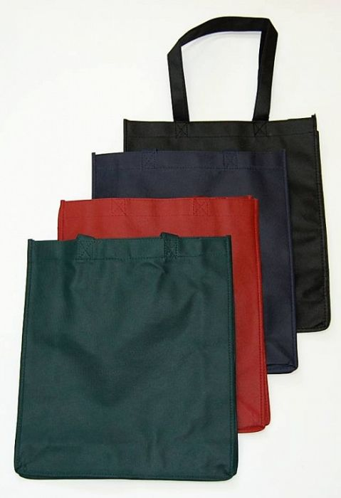 taška nákup. 10l, 36x10x32cm, MIX barev, textil