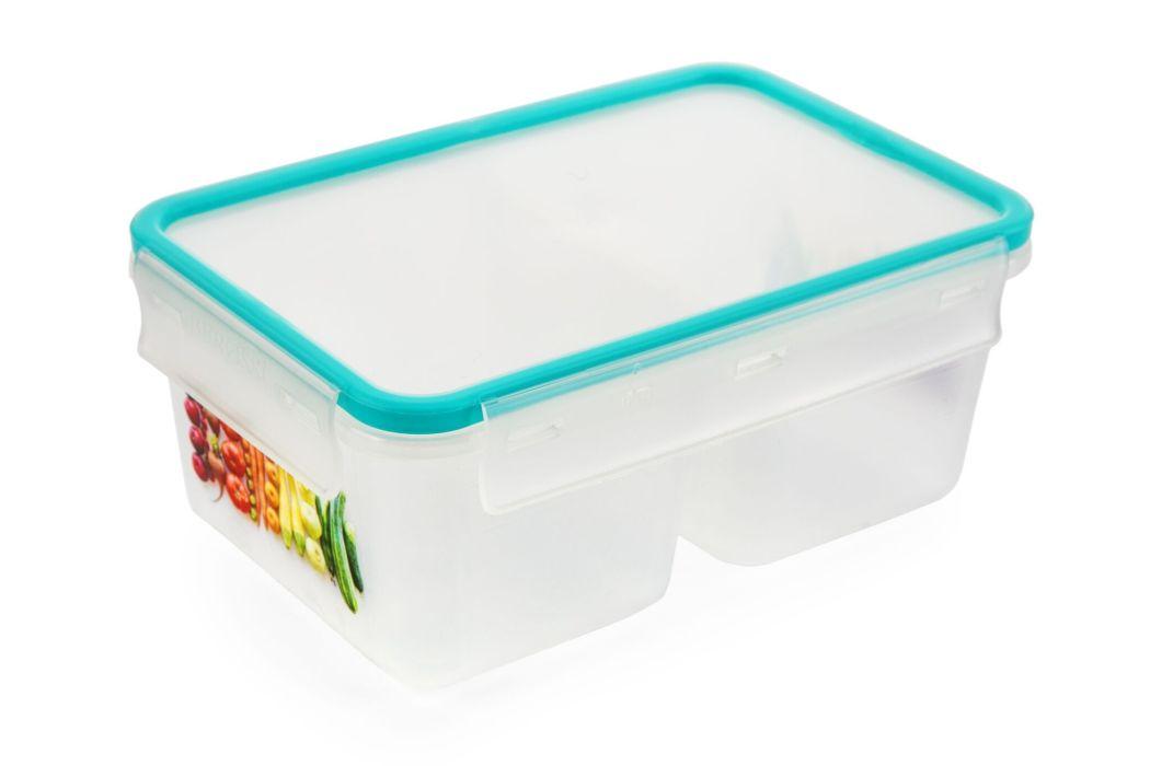 box  1,0l dvoudílný MEGA tyrkys, 18,9x12,8x7,9cm