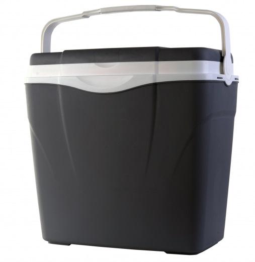 box 24l ANTARCTICA chladící, šedý, plast