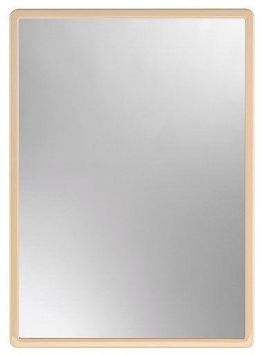 zrcadlo 40,0x30cm MATĚJ, béžové