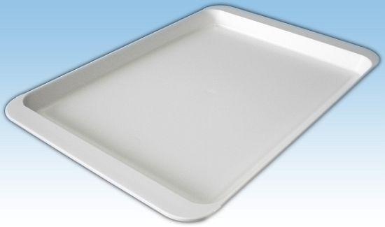 podnos 32x22cm bílý-036 0+90C