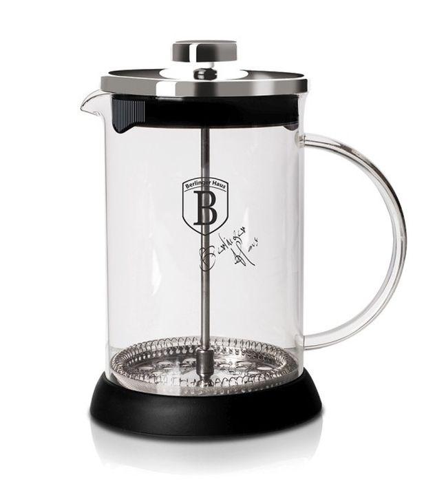 konvice 0,60l CHROM, COFFEE MAKER, sklo+plast