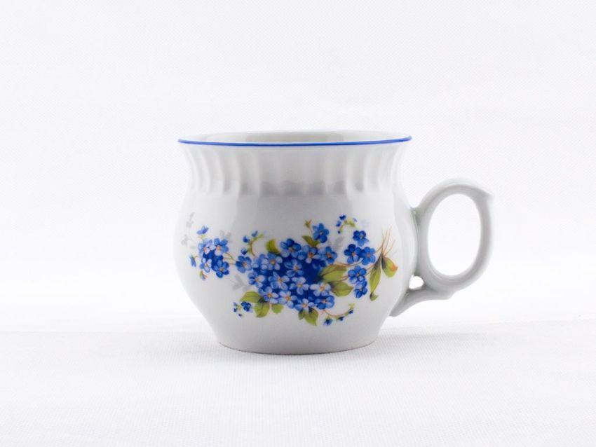 hrnek 290ml DARUME-POMNĚNKY modrá, čes.porcelán