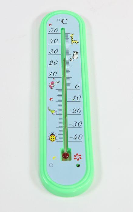 teploměr 24,5x5,5cm univ.  -40°C +50°C, dětský, pl