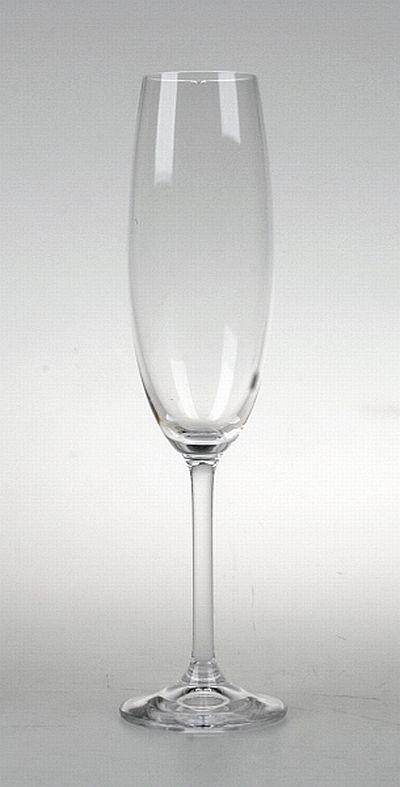 sklen. 220ml, 6ks, GASTRO/COLIBRI šamp.flétna