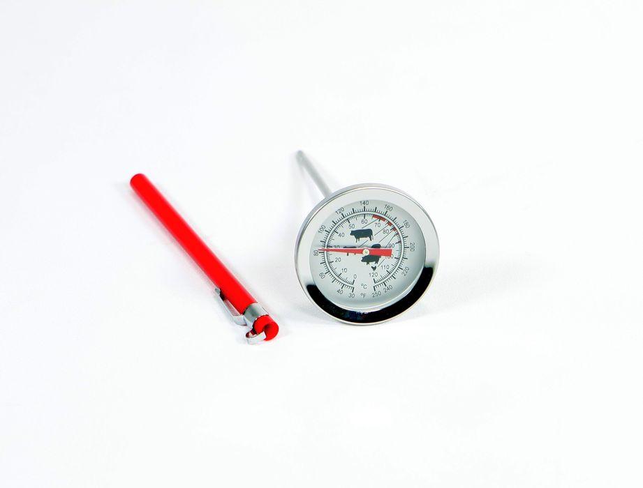 teploměr   d6x14cm vpich., 0°C+120°C,            d