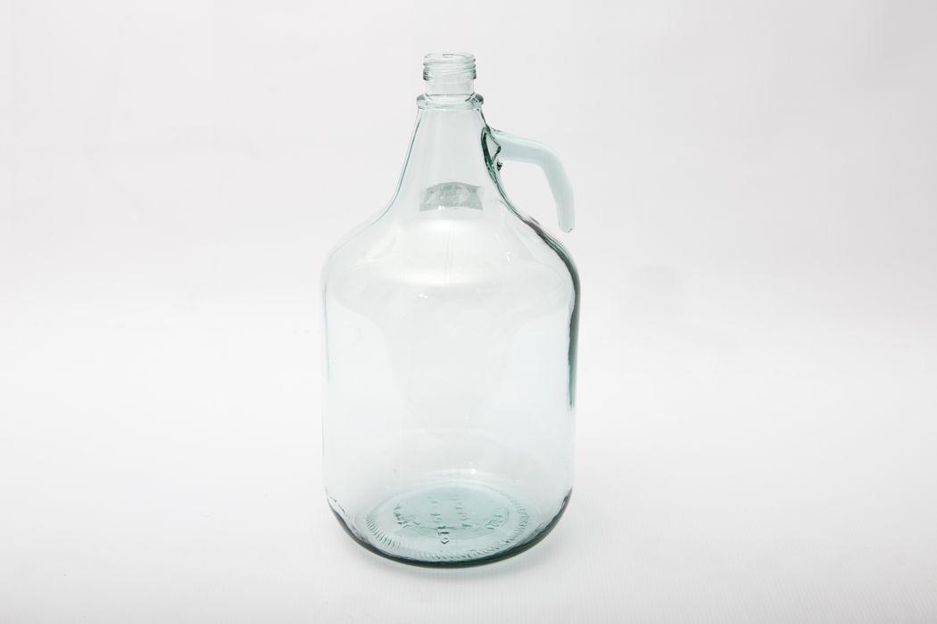 demižon  5l náhr.sklo s uchem(oplet.demižon)