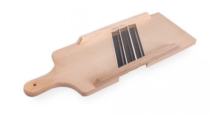 kruhadlo na zelí 3nožové, 42x16cm, dřevo