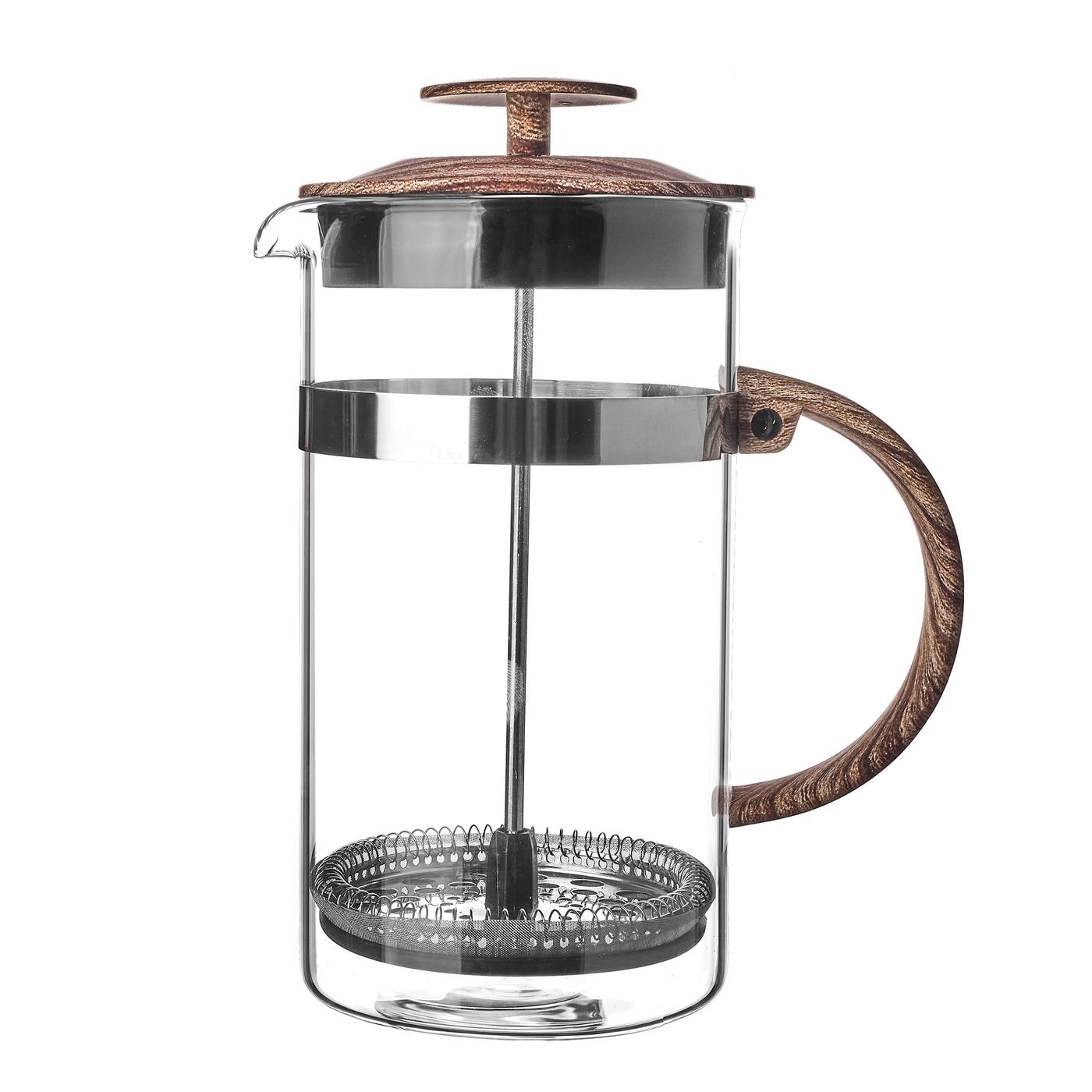 konvice 1,0l VENGA, COFFEE MAKER, sklo+NR+plast