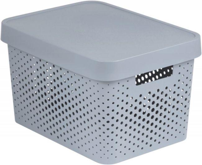 box 17,0l INFINITY díry, šedý, 36,3x27x22,2cm